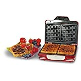Ariete 187 Waffle Maker Party Time Machine pour gaufres couleur rouge