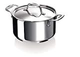 Bekaline 12061204 Chef Faitout + Couvercle en acier inoxydable  20 cm