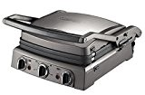Cuisinart GR50E Griddler Pro : Plan de cuisson multifonctions Grill Plancha Barbecue Panini- 2000W