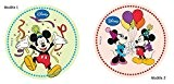 Disque Azyme Mickey Minnie Celebration Décoration Enfant 20 cm - 024 - 1