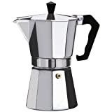 Kabalo 700ml (12 tasses) Macchinetta de cuisinière pour faire du café expresso italien - Continental Moka Percolateur Pot aluminium