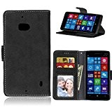 Microsoft Lumia 930 (5 Zoll)Coque Lanyard Dragonne Portefeuille étui en cuir PU,Microsoft Lumia 930 (5 Zoll)Flip magnétique Cas avec support ...