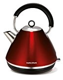 Morphy Richards Accents Bouilloire Pyramide rot