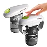 One Touch - Duo facile ouvre boîte + ouvre bocal mains libres