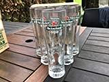 Verre de bière heineken 6 x 0, 5 l