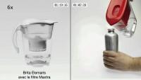 Carafe filtrante Aquasense par Electrolux