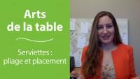 Art de la table et bonnes manières : les serviettes