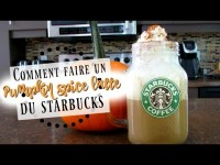 COMMENT FAIRE UN PUMPKIN SPICE LATTE?