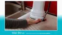 Installation d'un filtre à charbon actif sur évier - Carbonit SanUno