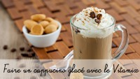 Recette avec le blender Vitamix : cappuccino glacé
