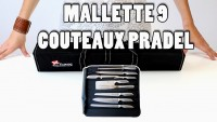 Valise 9 couteaux Pradel Excellence