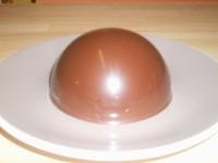 Comment faire une coque (dôme) au chocolat?