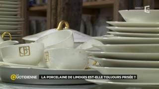 La porcelaine de Limoges est-elle toujours prisée ?